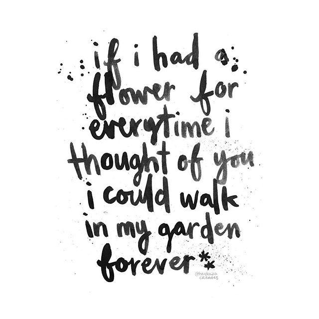 #heykailacreates | if i had a flower for everytime i ...