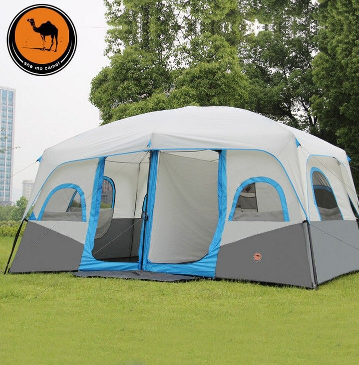 outdoor tent man hiking opportunites with double tents wind rain telescopic auto tents & Like and Share if you want this 2015 New pattern 1hall 2 Bedrooms ...