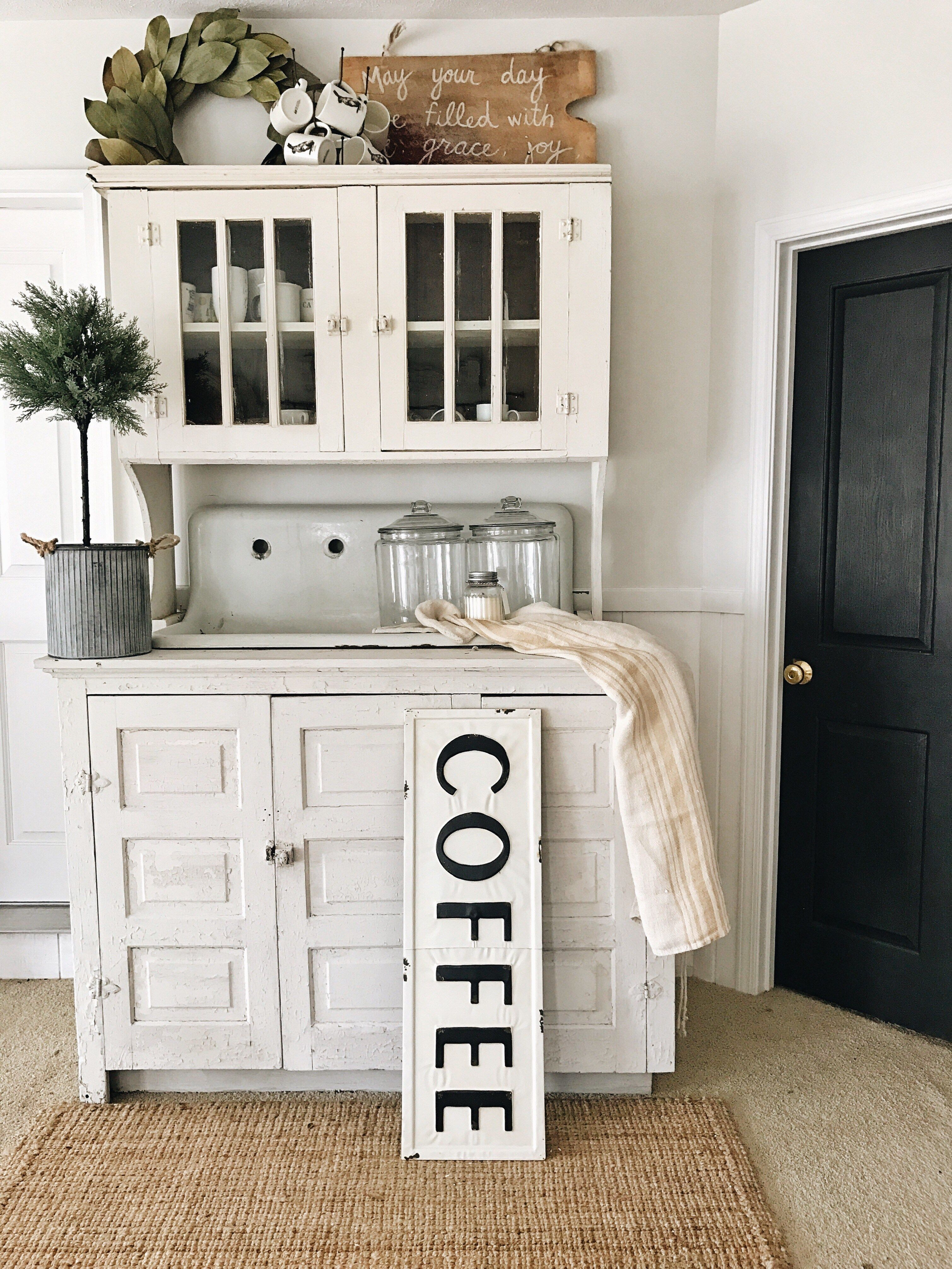 cottage best kitchen diy home of modern wall ideas farmhouse decorating hutch room living