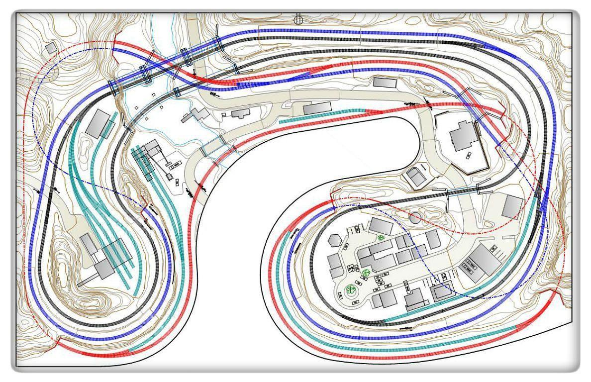 Model Train Layout Plans - 108 | FERROMODELISMO | Pinterest ...