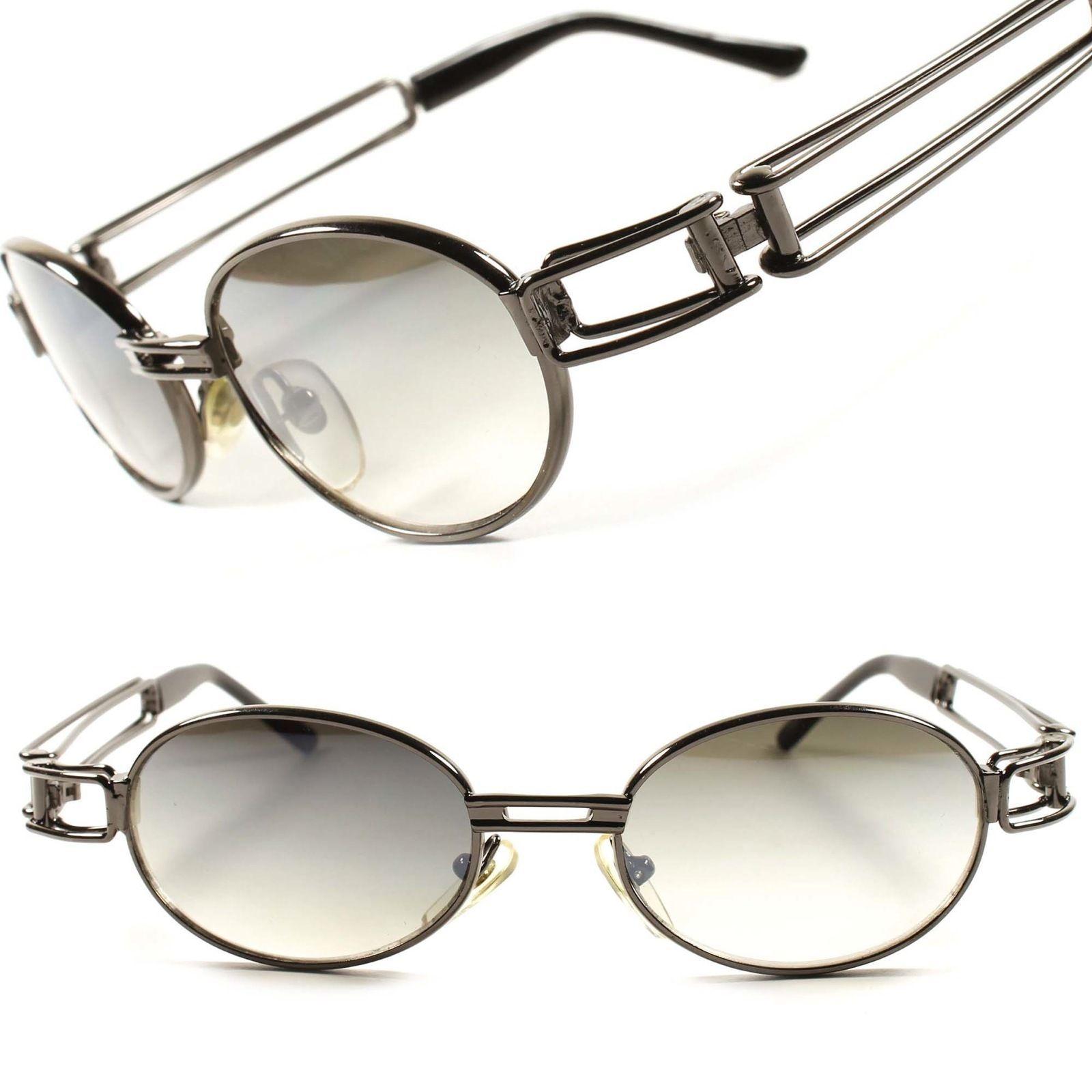 ecf93b8c5e72 Classic Old School Vintage Retro Mens Womens Oval Round Sunglasses Frame  D54B