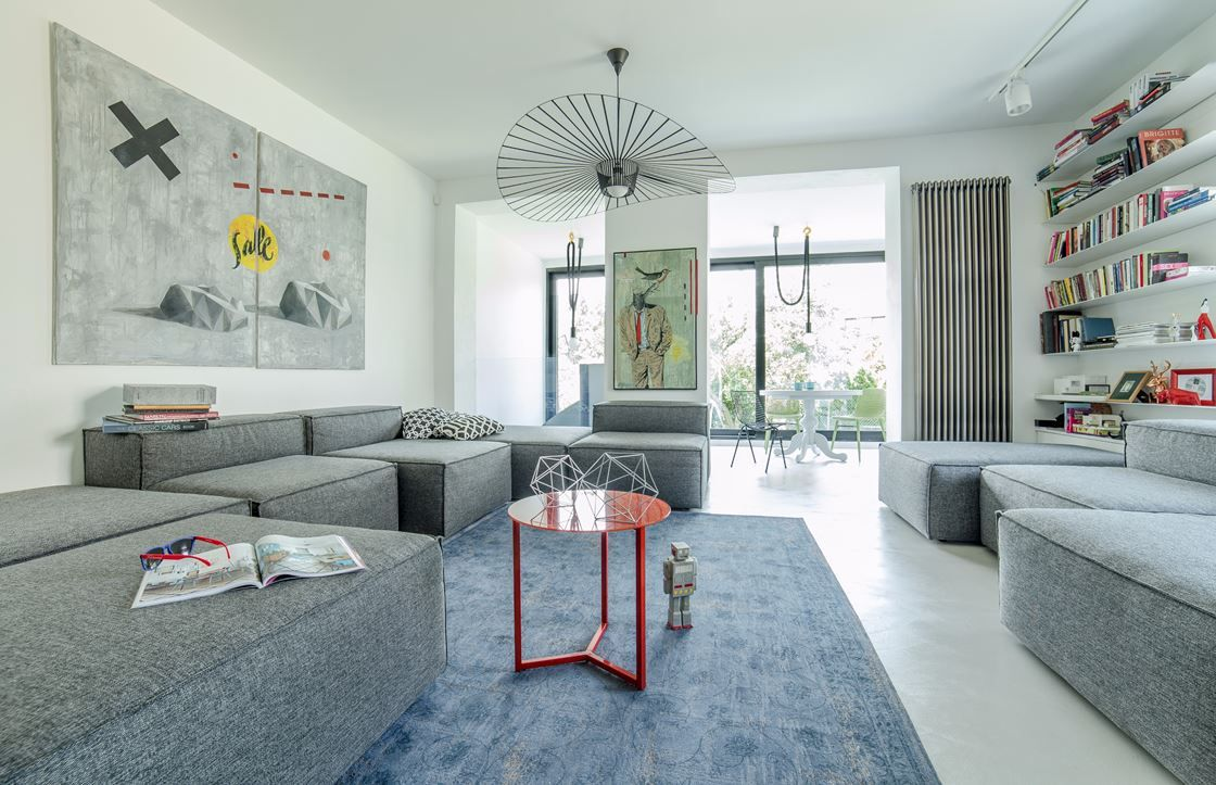 Urban House In Warsaw - Picture gallery