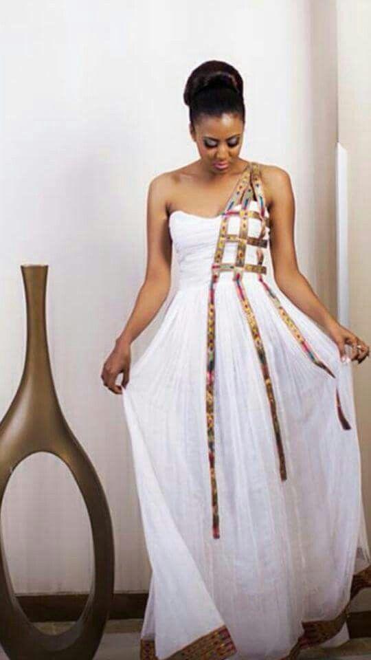 Elegante zuria pinteres for Ethiopian wedding dress designer