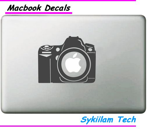 HD Digital Camera for apple Creative Sticker for Macbook Air 11 12 13 Pro 13 15 17 Retina Skin Laptop Computer Wall Vinyl Decal-in Laptop Skins from Computer & Office on Aliexpress.com   Alibaba Group