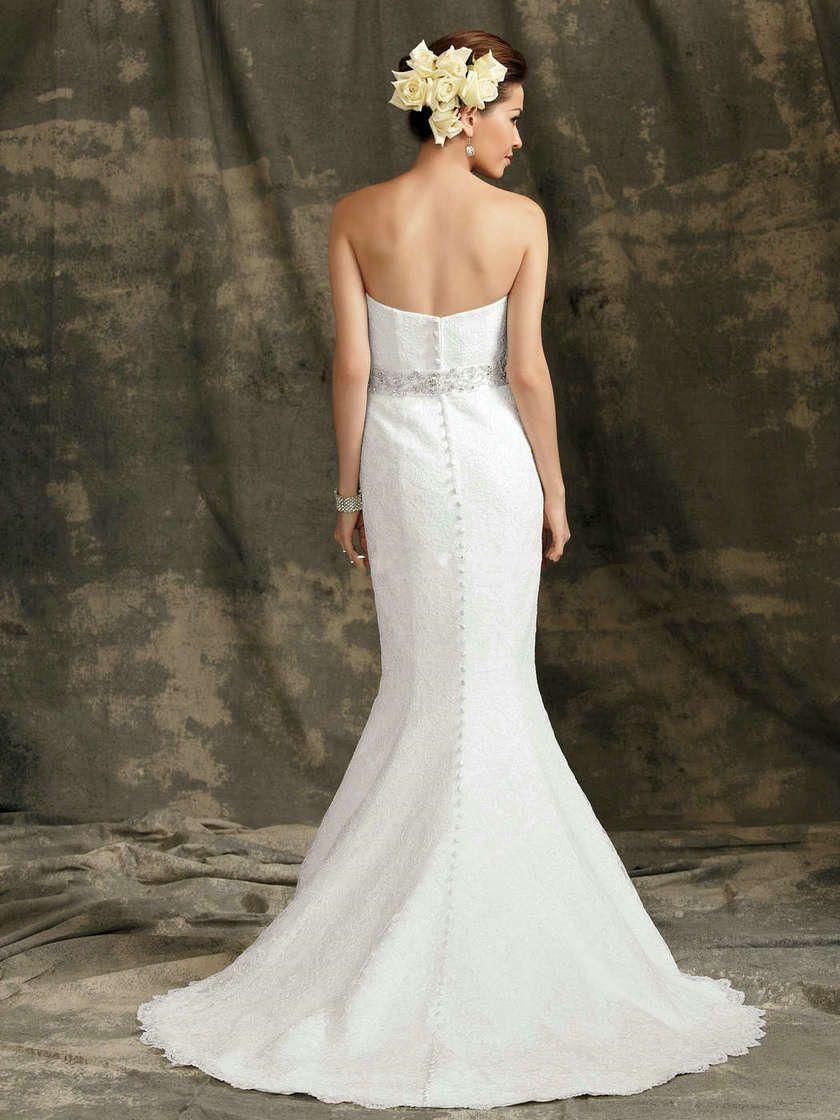 Best Satin Beaded Trumpet Wedding Dresses@1.jpg (840×1120)   Bridal ...