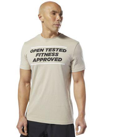 Grey 2019 New Fashion Style Online Men's Clothing Useful Reebok Crossfit Speedwick F.e.f Mens Short Sleeve Training Top