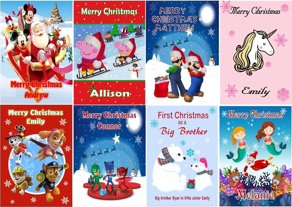 40+ Exclusive Custom Christmas Cards to Charm Friends and Family ...