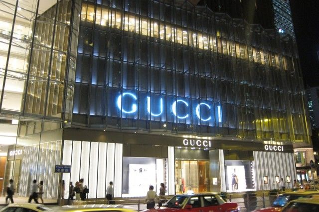 902f75e9fd8a Gucci Flagship Store in The Landmark Building | Commercial | Luxury ...