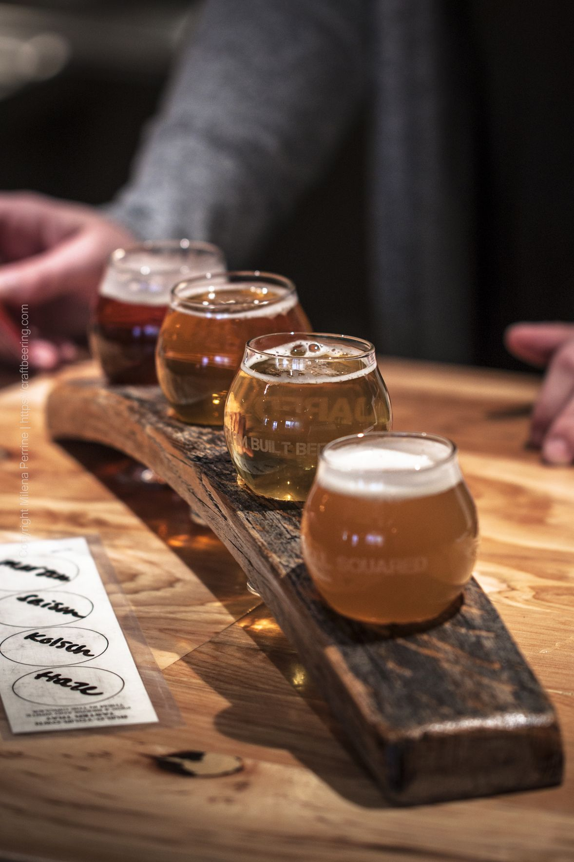 Beer flight A beer paddle is a popular and effective way for consumers to familiarise themselves with different types of beer It is also a strong and fun way to experienc...