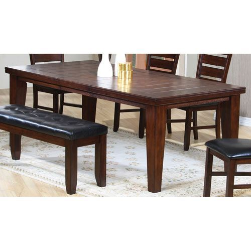 Imperial Rectangular Dining Table with 18-Inch Leaf
