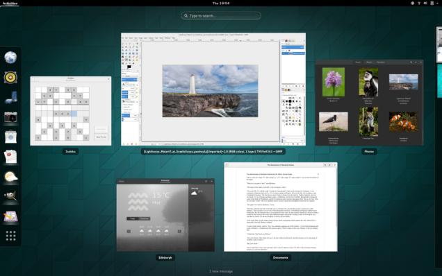 Five Best Linux Desktop Environments Desktop Environment Linux Cool Desktop