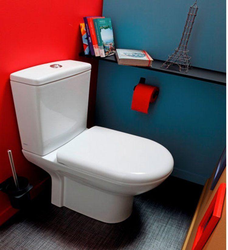 10 Couleurs Pour La Deco Des Toilettes Deco Toilettes Decoration Toilettes Deco Wc
