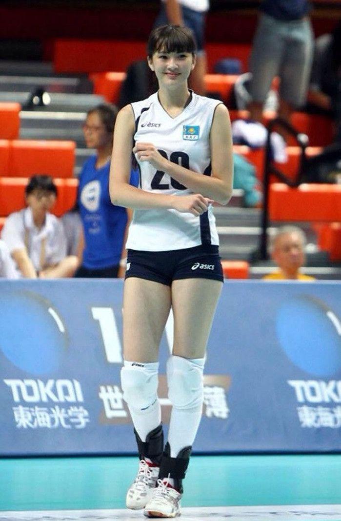 Sabina Altynbekova | Female athletes, Female volleyball