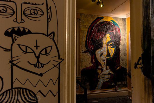 Tour a Secret Art Show Inside a Condemned NYC Apartment Building.