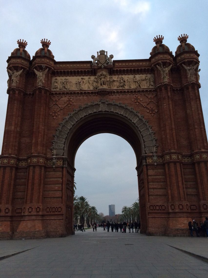 L'arc de triomphe - Barcelone