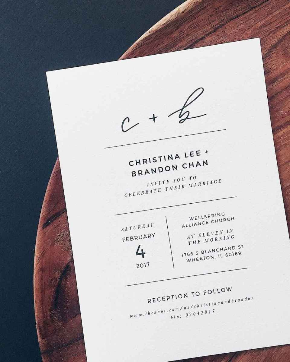 68 Simple Inexpensive Wedding Invitations Ideas In 2019