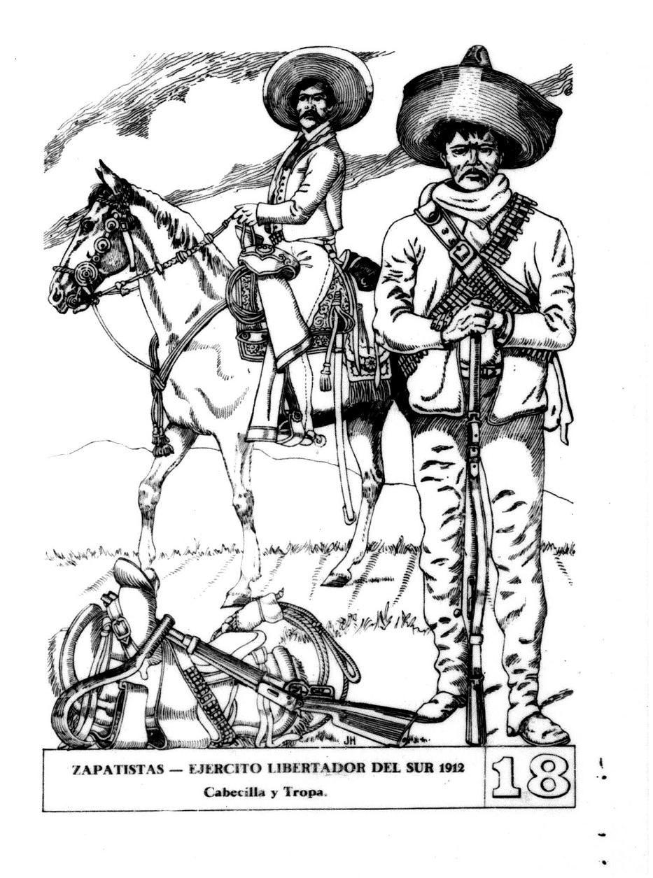 Blog Sobre Miniaturas Militares Wargames Pintura Modelismo Y Historia De La Aficion En Cataluna Chicano Art History Emiliano Zapata