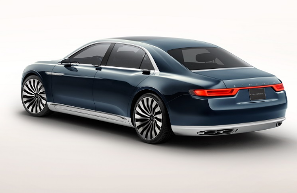 2018 Lincoln Continental Back View Vehiclesautos Com Lincoln