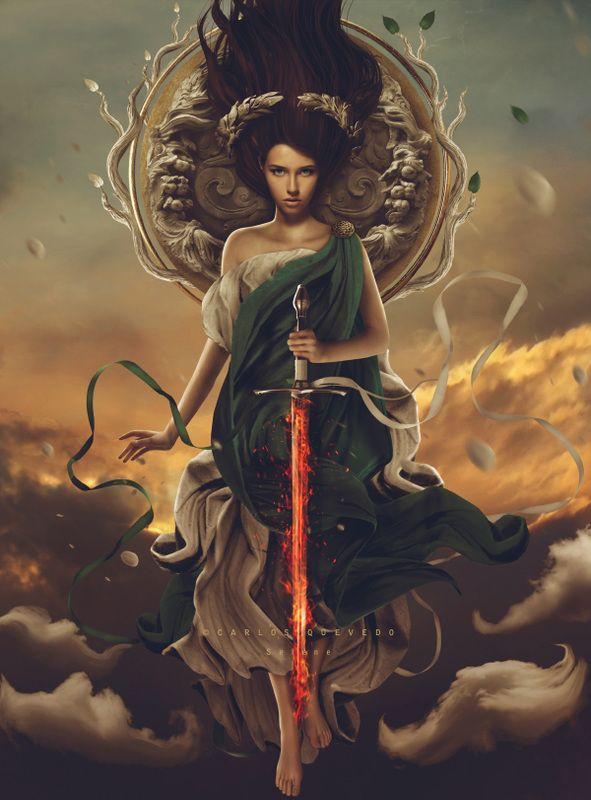 Темная богиня картинки