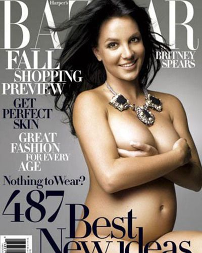 Something is. britney nude photo pregnancy