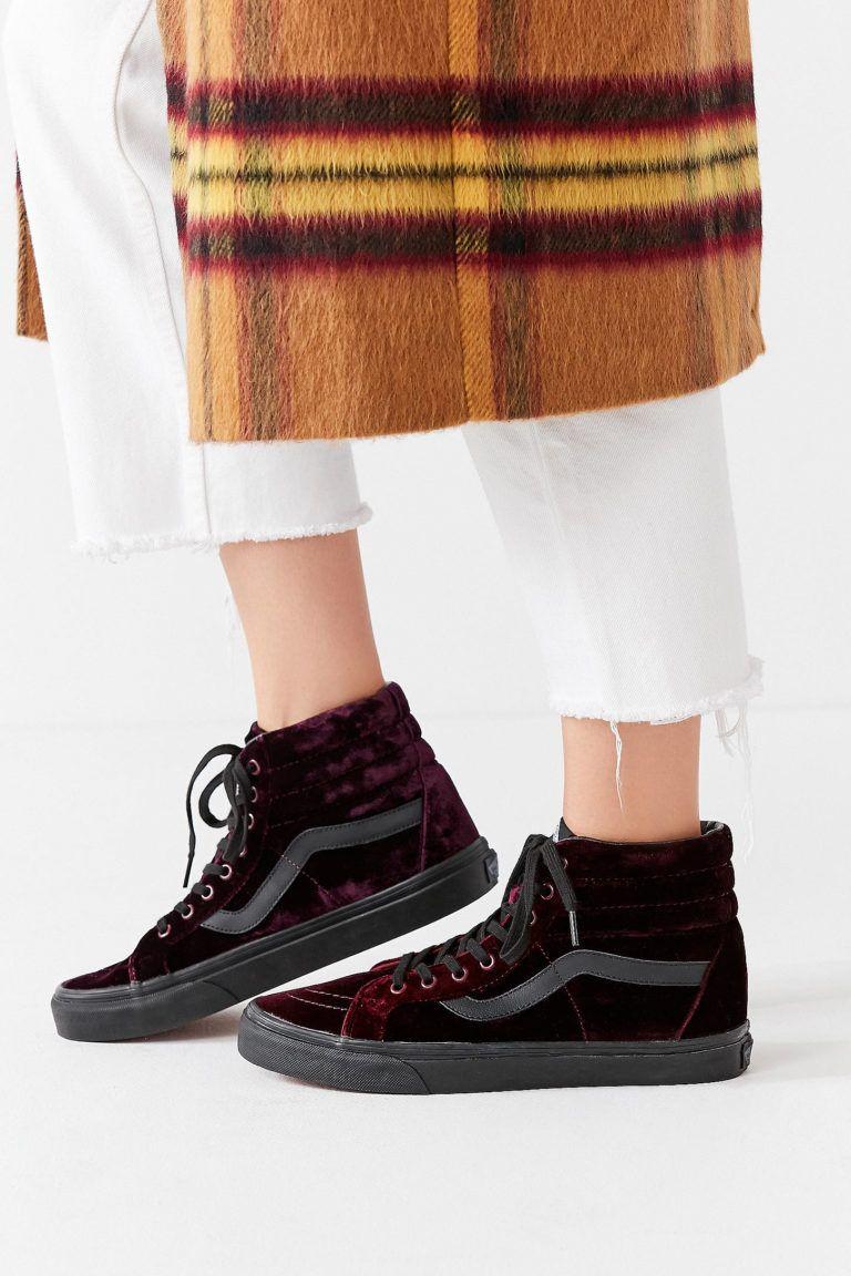 Vans Velvet Sk8-hi Reissue Sneaker