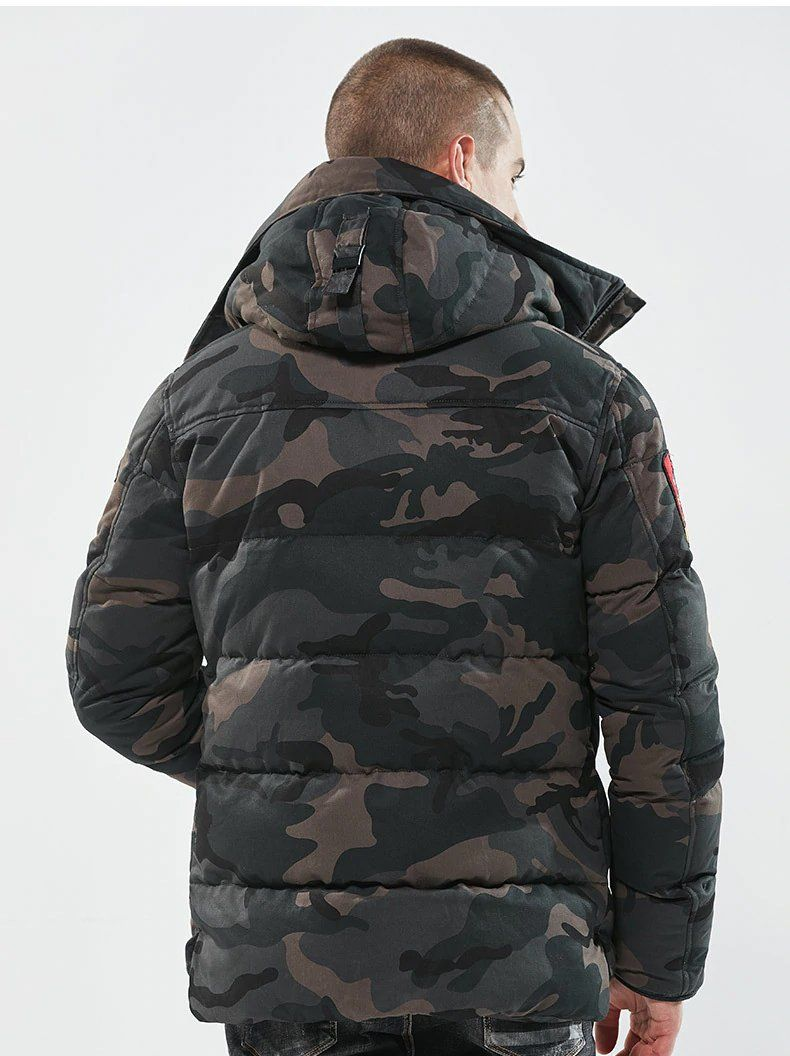 Military Tactical Camouflage Jacket Jacket Us Army Navy Thermal Outwear Thick Padded Jacket With Hood Military Style Winter Jacket Men Military Fashion Jackets [ 1056 x 790 Pixel ]