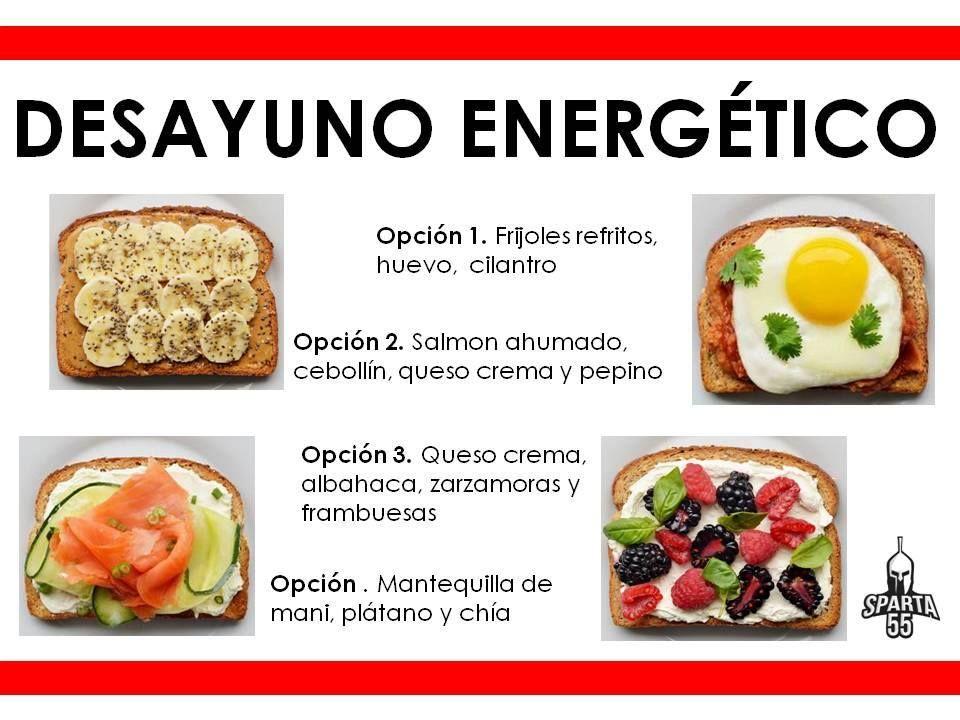 Desayuno energético. Comida Saludable. #Nutrición