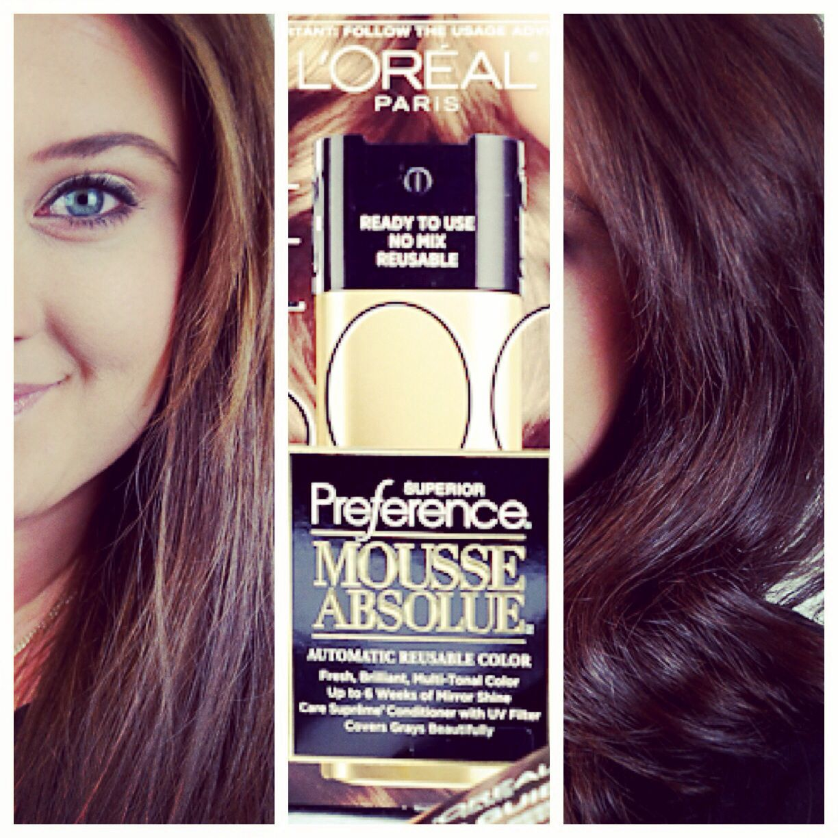 A New Way To Color Hair At Home Loreal Superior Preference Mousse