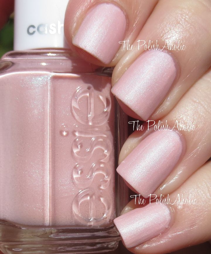 Just Stitched is a baby pink base with blue shimmer. - Essie ...