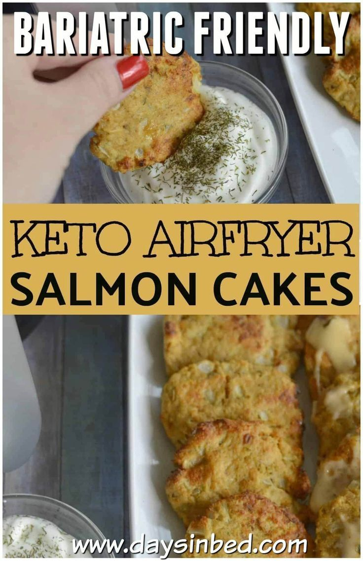 Keto Friendly Salmon Cakes Recipe | Days in Bed