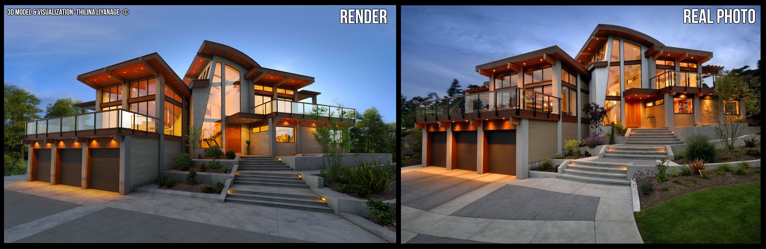 Modern House Awardwinning Canadian architect Keith Baker