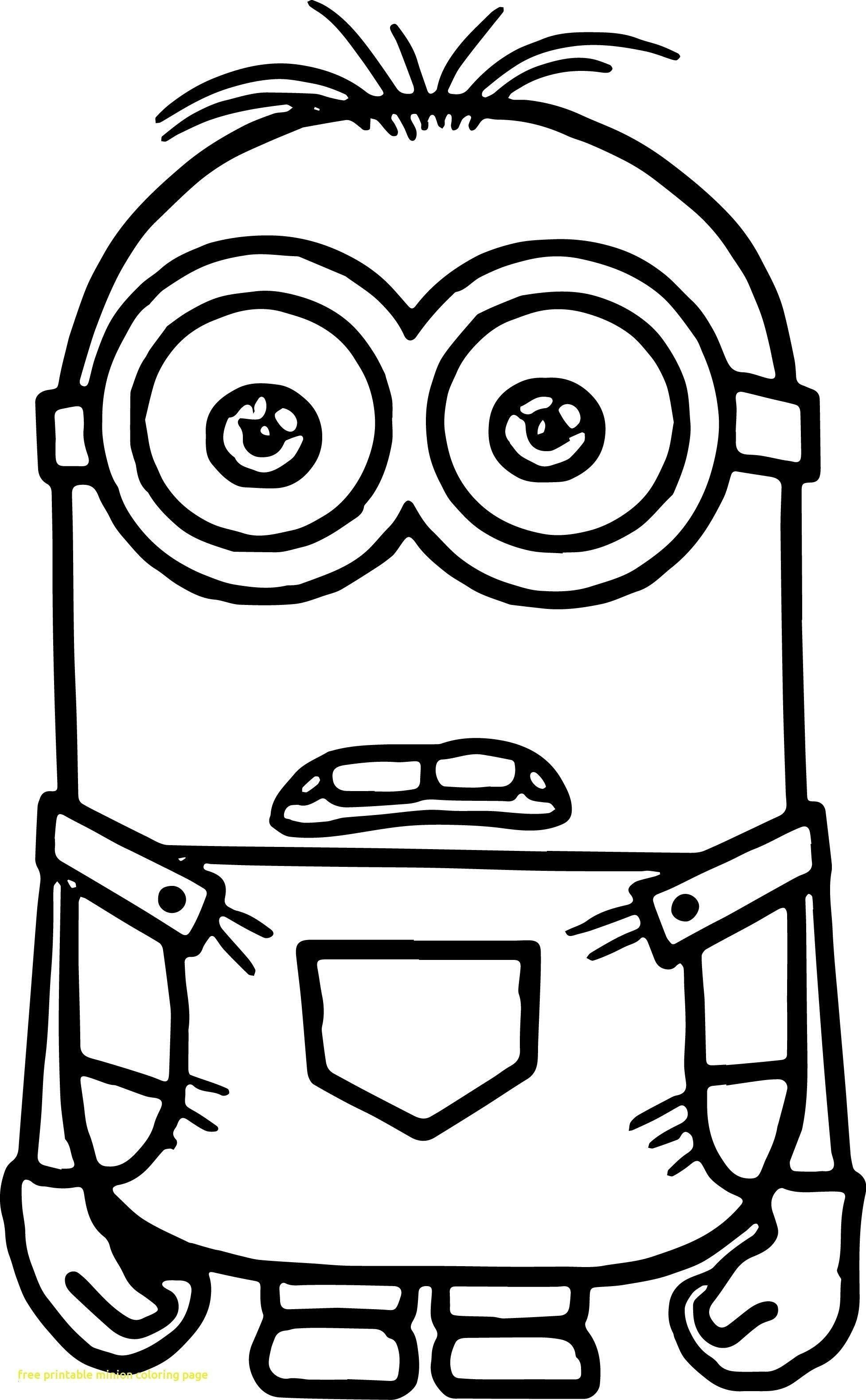 Minions Coloring Pages To Print Inspirational Best Printable