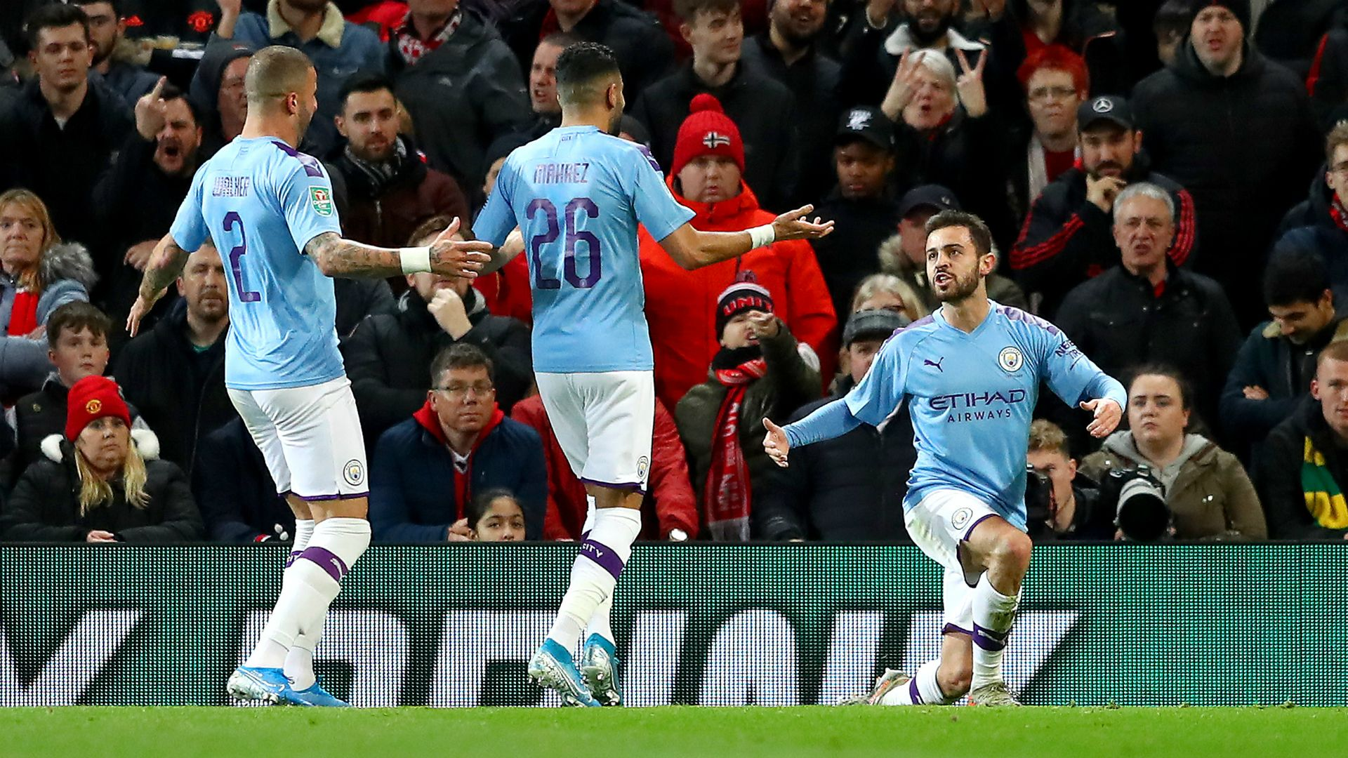 Manchester United V Manchester City Match Report 07 01 2020 League Cup En 2020