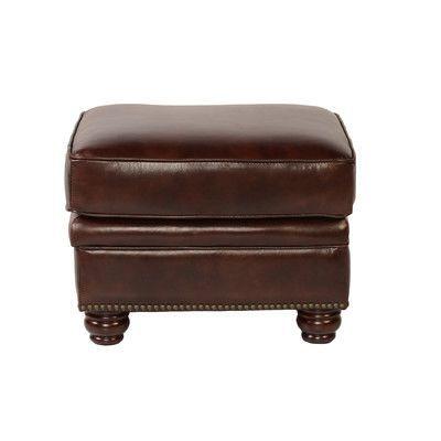 Lazzaro Leather Appalachian Ottoman | Products | Pinterest