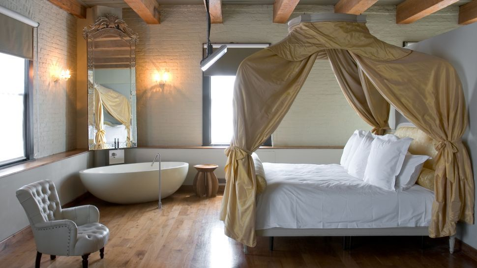 Canopy beds for adults soho house new york new york - Bed canopies for adults ...