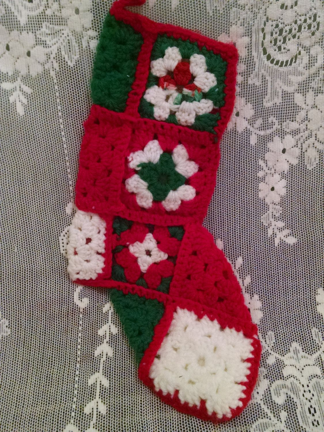 1970'S Christmas Stocking Crochet Pattern Magnificent Design Ideas