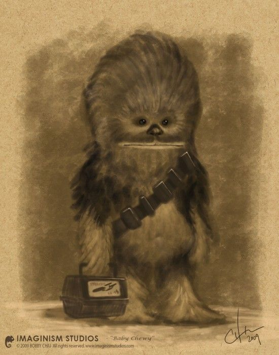 chewie on the first day of school