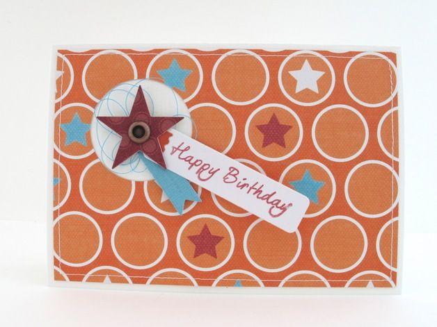 Carte d'anniversaire avec enveloppe