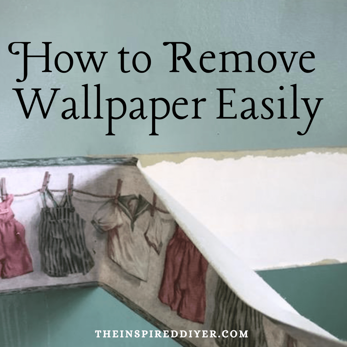 How To Remove Wallpaper Easily Removable Wallpaper Diy Wallpaper Removal Solution Removable Wallpaper