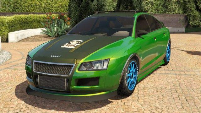 Green Obey Tailgater Modded Front Gta Sedans Pinterest