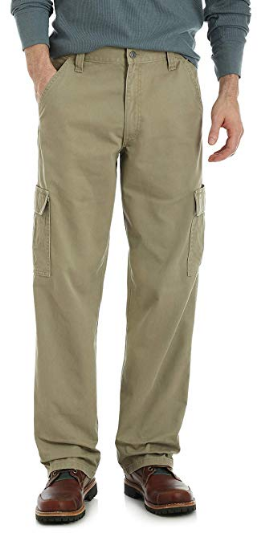 9b340d039f86e7 Wrangler Authentics Men's Classic Twill Relaxed Fit Cargo Pant  #womenfashion #Hoopearrings #widepants #