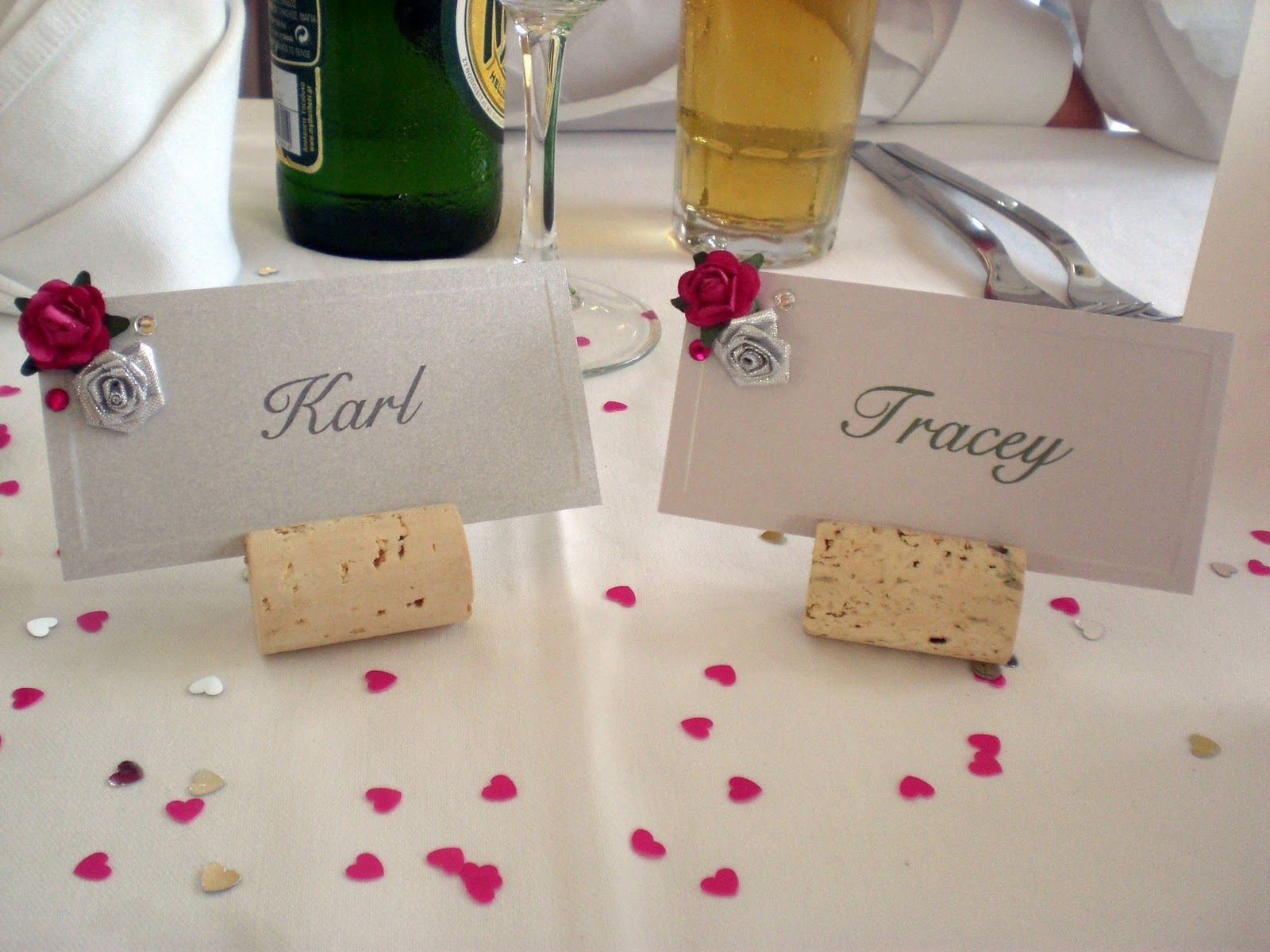 Bizzy Bee Blog My Best Friends Wedding Name Place Cards