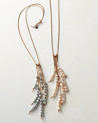 in2 design for Garnet Hill Frida Necklace pretty sure I could make