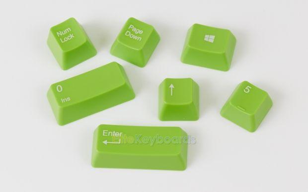 104-key Universal Keycap Set for Cherry MX (Green)
