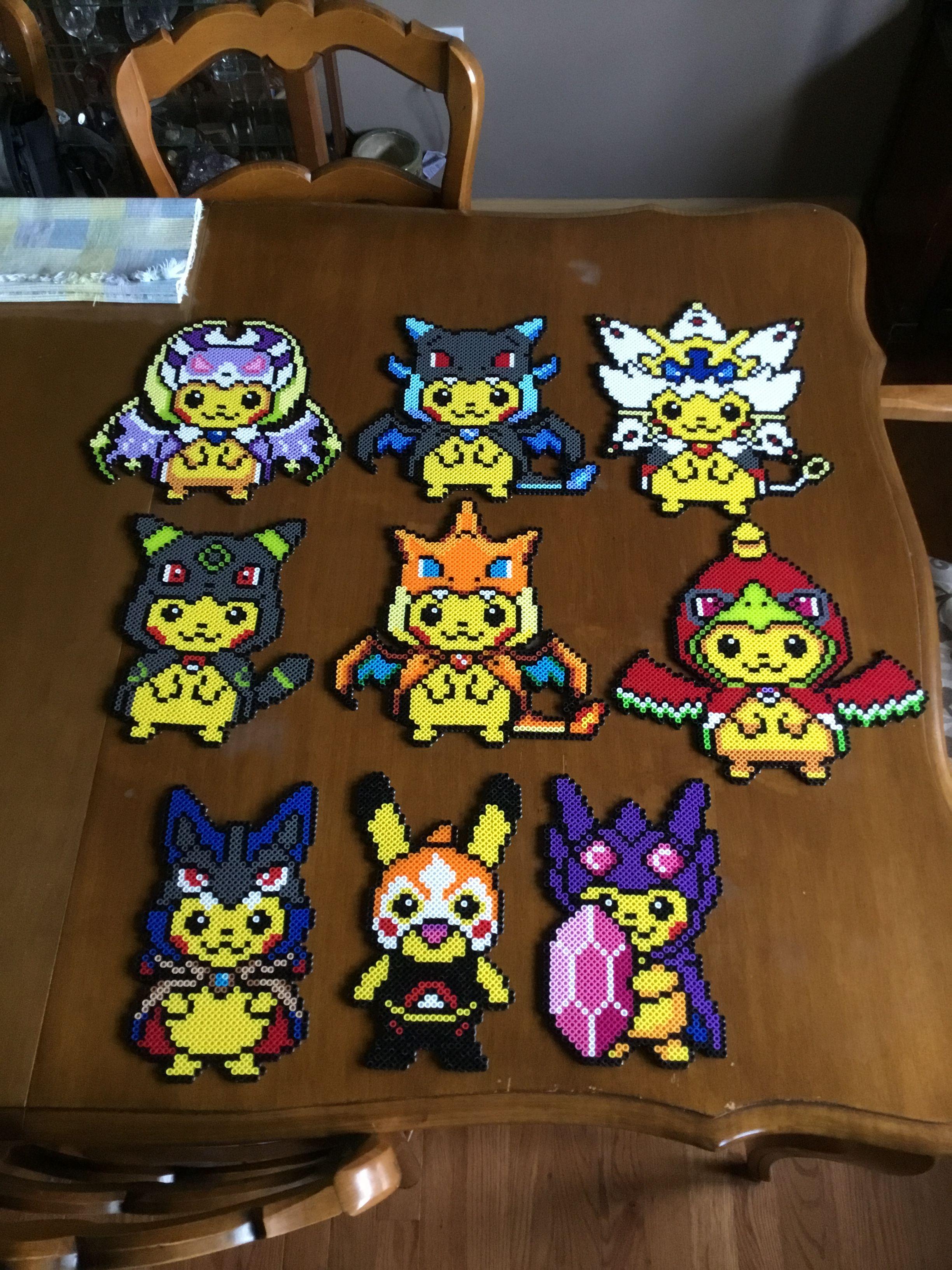 Pikachu Perler Bead Perler Bead Pokemon Patterns Pokemon
