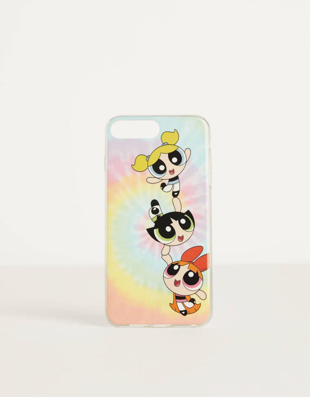 Coque Les Super Nanas x Bershka iPhone 6 plus / 7 plus / 8 plus ...