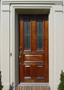 How To Refinish A Wood Front Door Wood Front Doors Wooden Front