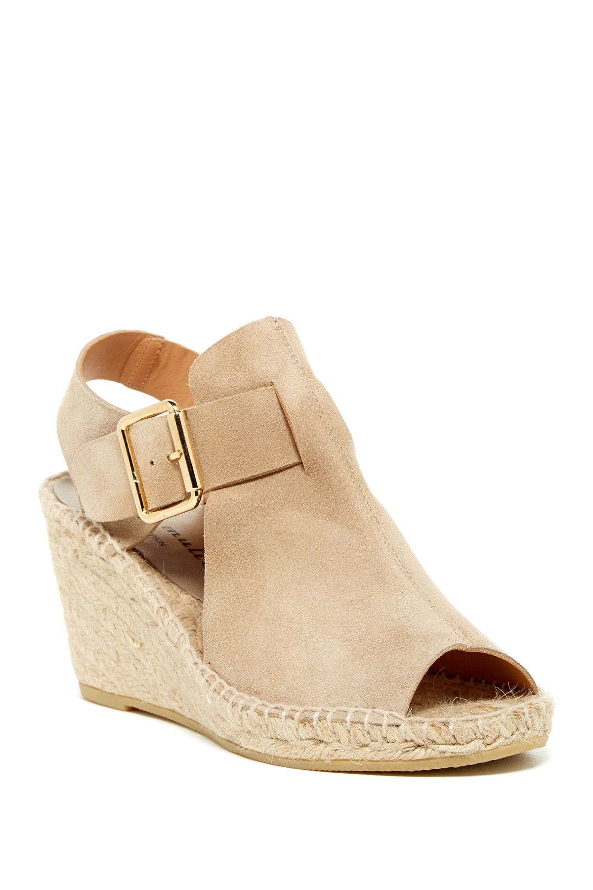 53c7583054a These Dawn Suede Woven Wedge by Bettye Muller are at the top of my list!! I  would like them in the cognac color.