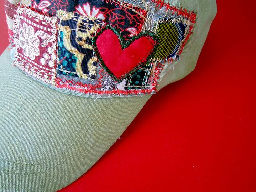 Patchwork hat from Alisa Burke!