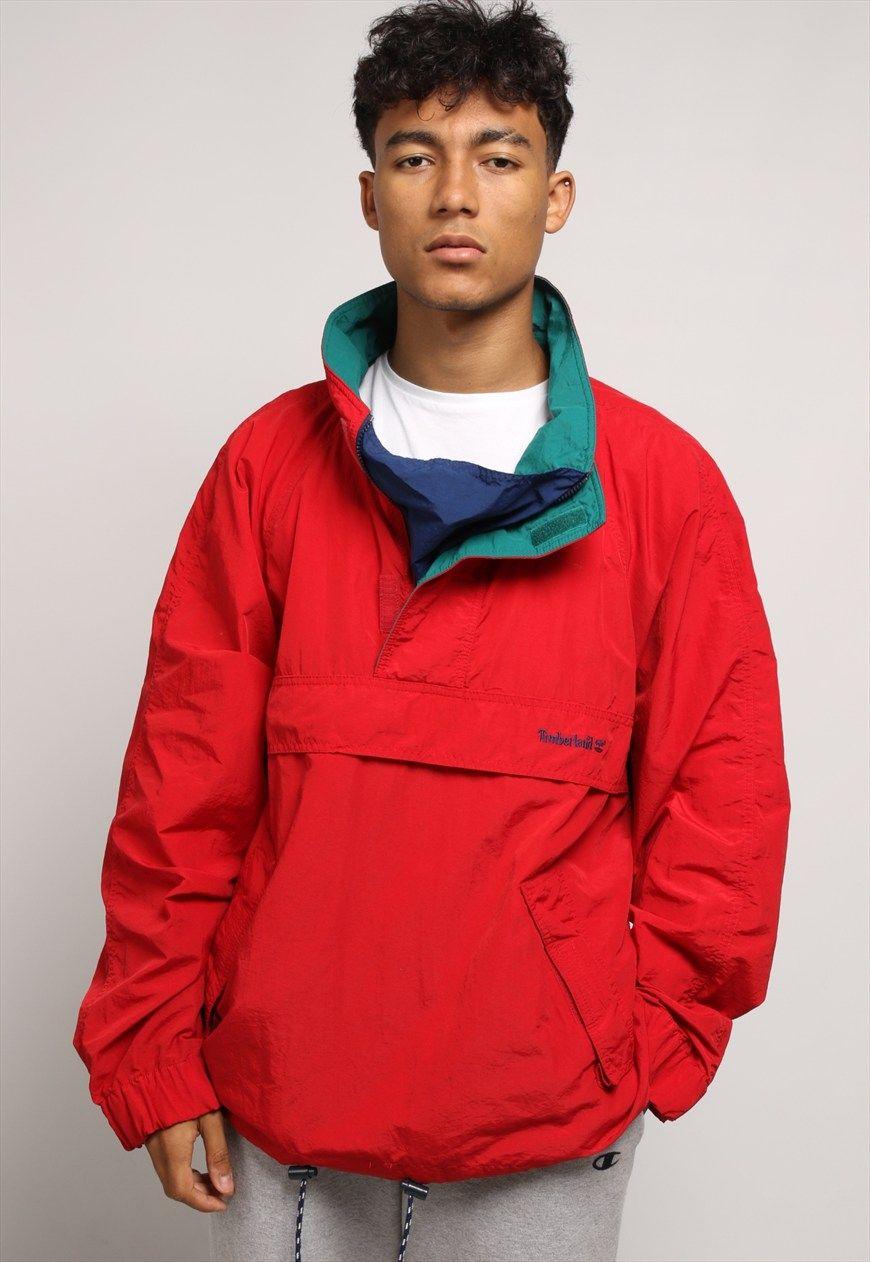 Vintage Timberland Pullover Jacket  bbbb03b248